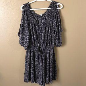 American Eagle Open Sleeve Dress
